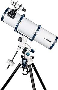 Meade LX85 200mm f/5 Reflector GoTo EQ Telescope with AudioStar