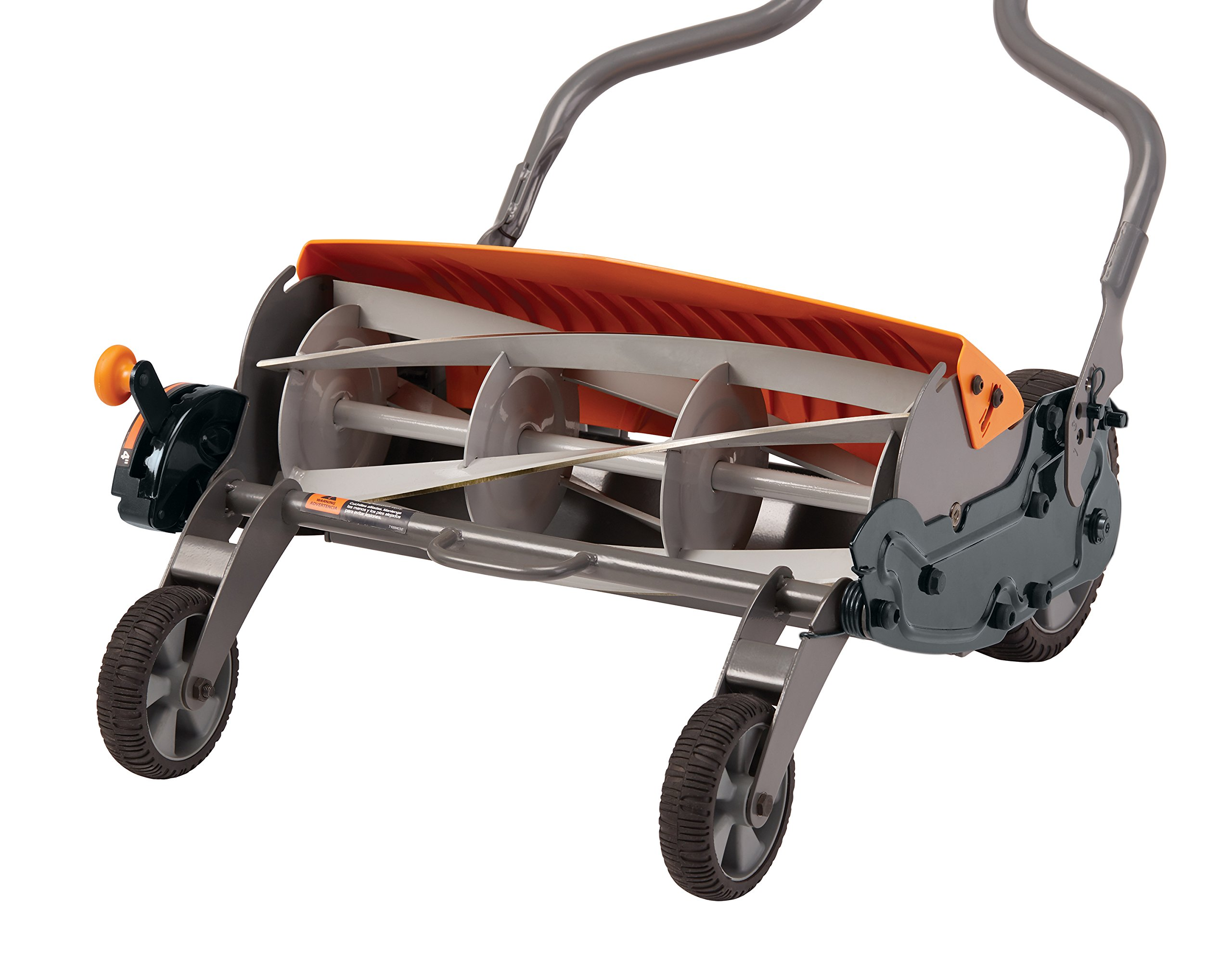 Fiskars staysharp max reel mower 2 the smart design of reel mower offers a cleaner cut without the hassles of gasoline, oil, battery charging, electrical cords or loud engine noise a combination of advanced technologies make the staysharp plus reel mower 40-percent easier to push than other reel mowers patent-pending inertia drive reel delivers 75-percent more cutting power to blast through twigs, weeds and tough spots that would jam other reel mowers