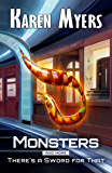 Monsters, And More: A Science Fiction Short Story Bundle from There's a Sword for That