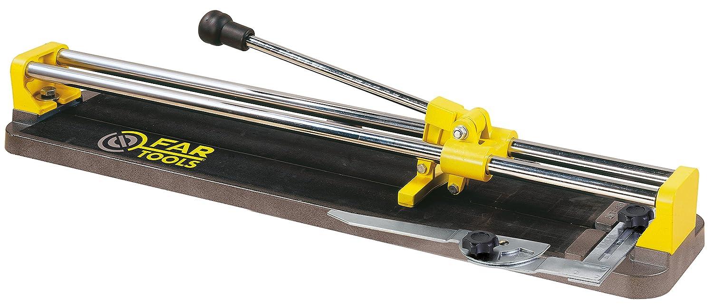 Fartools 210231 Coupe carrelage manuel 650 mm Molette 22 x 6 x 2 mm Coupe 16 mm