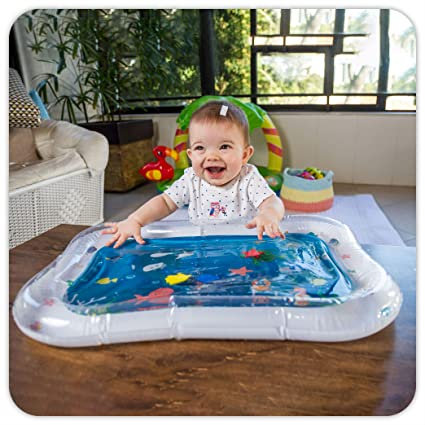 Amazon.com: Water Play Mat para niños, divertido, inflable ...