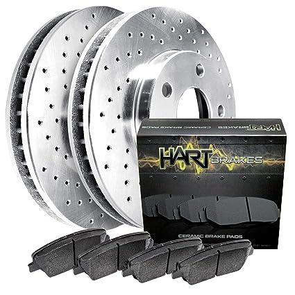 For 2009-2015 Toyota Venza Hart Brakes Rear Low Dust Ceramic Brake Pads