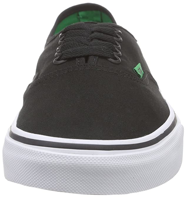 Vans Authentic, Unisex-Erwachsene Sneakers, Schwarz (sport Pop/black/kelly  Green), 37 EU: Amazon.de: Schuhe & Handtaschen