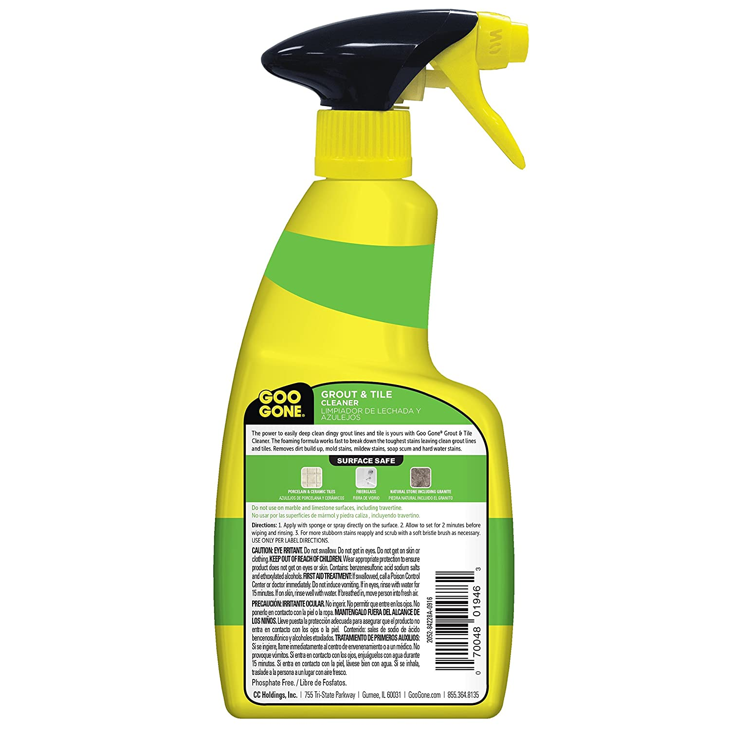 Amazon goo gone grout tile cleaner stain remover 14 fl amazon goo gone grout tile cleaner stain remover 14 fl oz home improvement dailygadgetfo Gallery