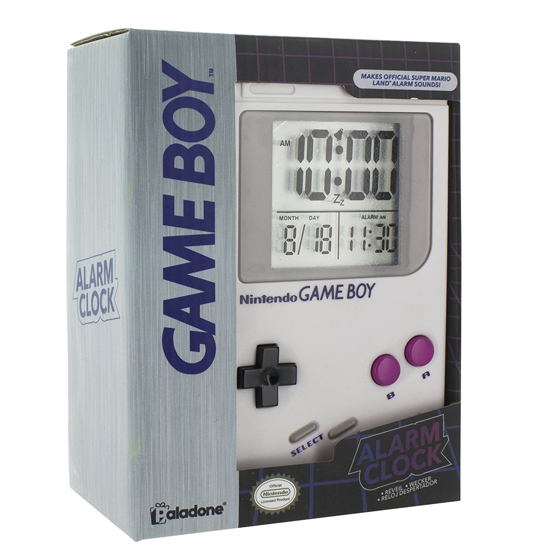 Paladone Nintendo Gameboy Alarm Clock [並行輸入品] B07C6D65QJ
