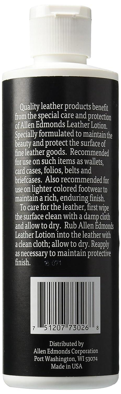 Amazon Allen Edmonds Leather Lotion Net Wt 8 Fl Oz 236ml