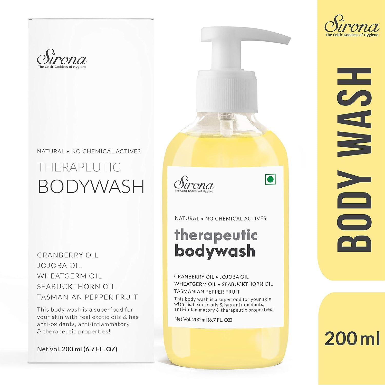 Sirona Natural Anti Fungal Therapeutic Body Wash with 5 Magical Herbs, 200  ml