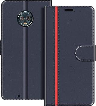 COODIO Funda Motorola Moto G6 con Tapa, Funda Movil Motorola Moto ...