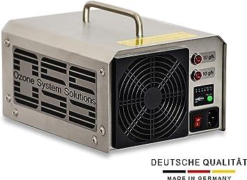 Profesional Generador de Ozono 20 g/h con lámpara UV – Fabricado ...