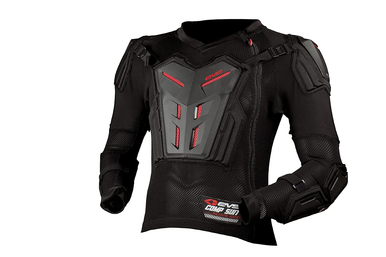 EVS Sports Comp Suit Black, Large
