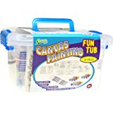 New Image Group CPFT300 Kelly's Crafts Canvas Painting Fun Tub-Girl Favorites