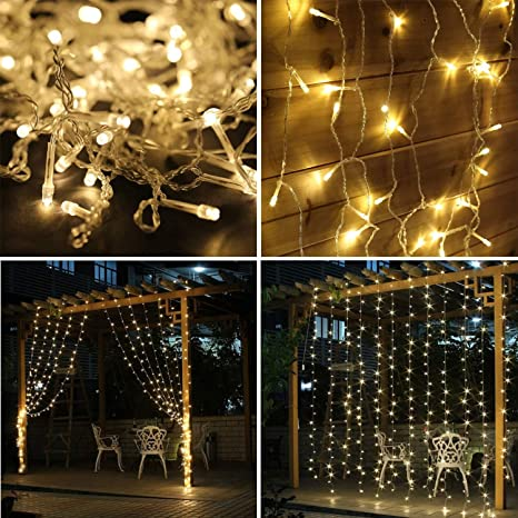 600leds warm white led twinkle fairy string lights 8 modes copper wire warm white tiny