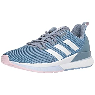 adidas Women's Questar Tnd W, Raw Grey/White/Aero Blue, 7 Medium US