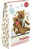 The Crafty Kit Company Knitting Kit Knit your own Teddies