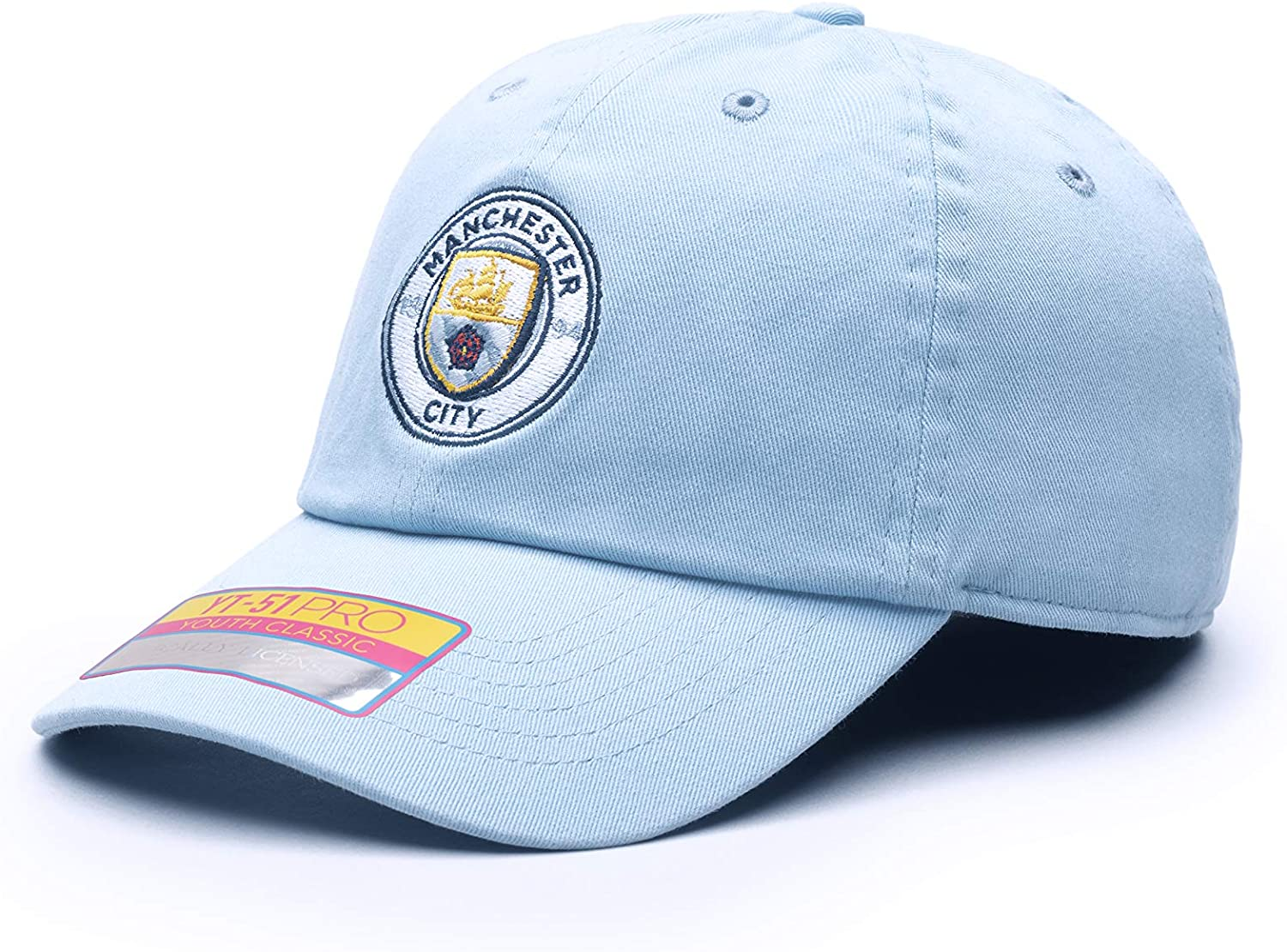 Fan Ink Manchester City Bambo Classic Hat One Size Light Blue