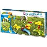 Maro Toys 60066 - Set da golf per bambini, con ostacoli, mazze e palline