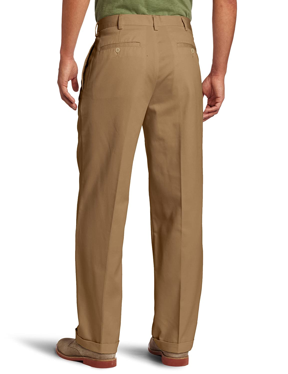 0c3426ce5 IZOD Men's American Chino Pleated Pant at Amazon Men's Clothing store:  Casual Pants