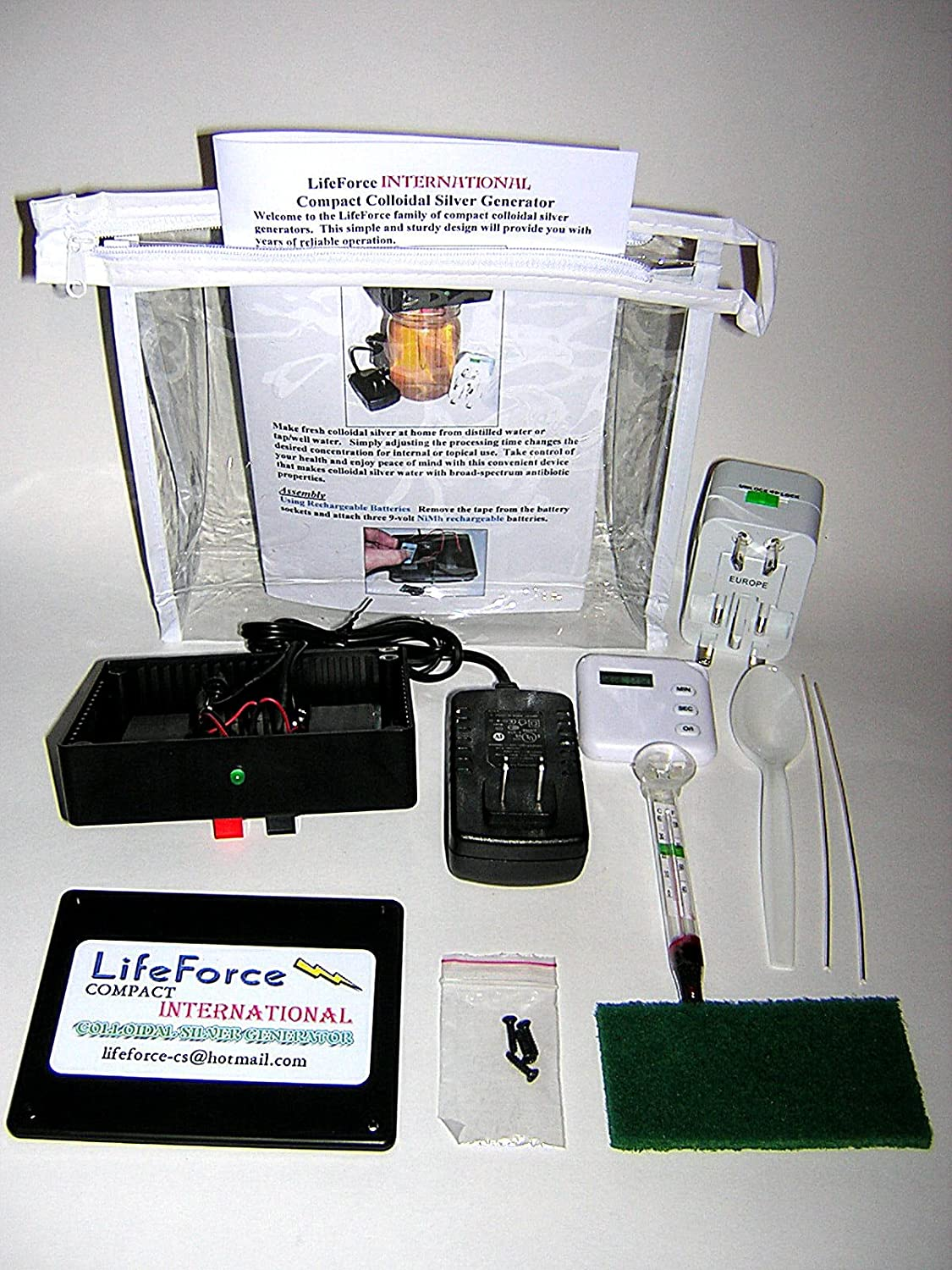 Compact International Colloidal Silver Generator Package 25a Circuit Breaker Lot Of 10 Ebay By Lifeforce Devices Health Personal Care