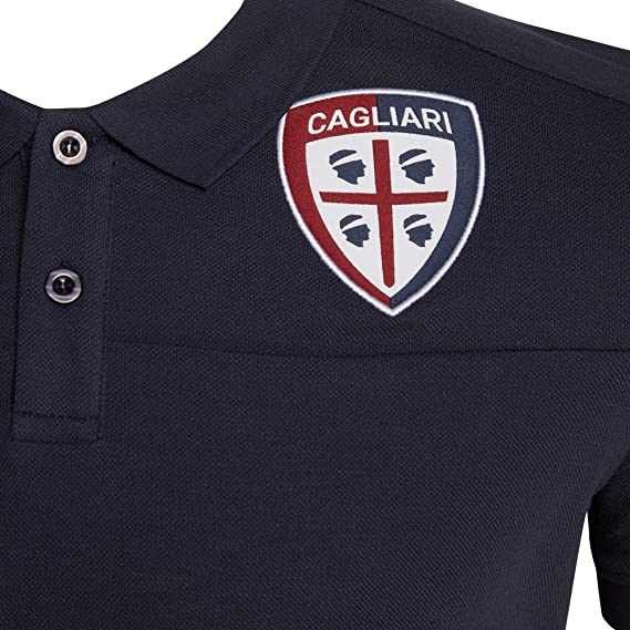 Macron Polo Cagliari Calcio 19/20 Staff: Amazon.es: Deportes y ...