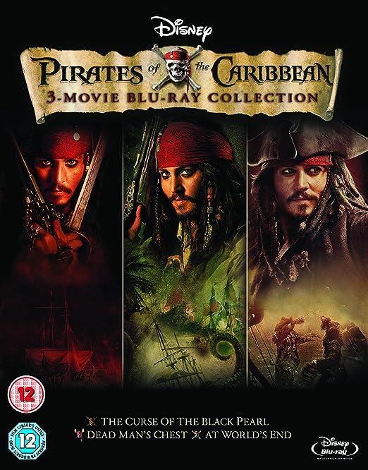 Pirates of the Caribbean 1-3 [Reino Unido] [Blu-ray]: Amazon.es ...