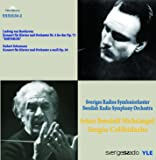 "Beethoven : Concerto pour piano n° 5 ""Empereur"" - Schumann : Concerto pour piano"