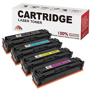 Mony Compatible Cartuchos de tinta Brother LC223 XL (2 Negro, 1 Cian, 1 Magenta, 1 Amarillo) Compatible con Brother DCP-J562dw DCP-J4120dw MFC-5320dw ...
