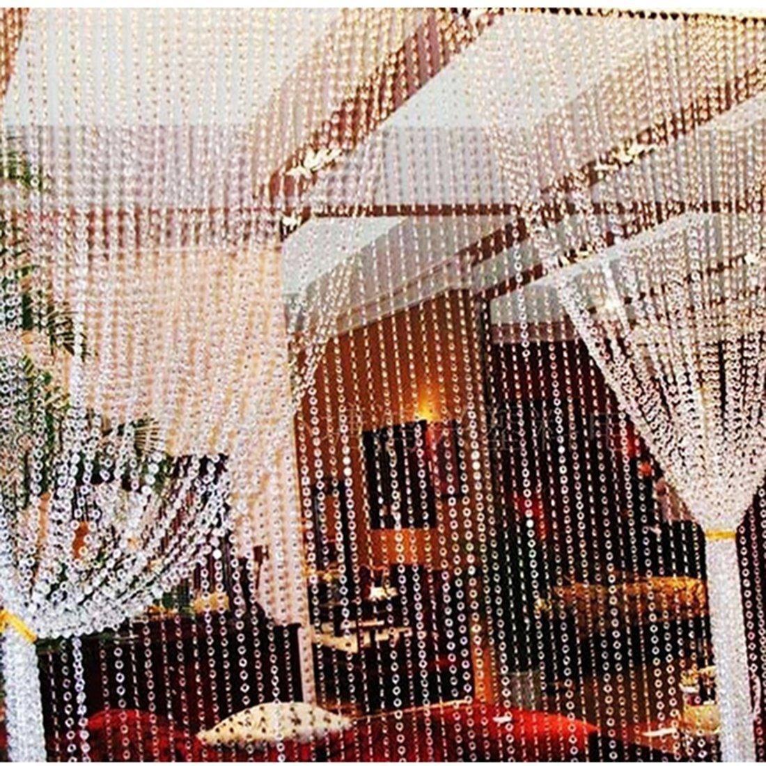 H /& D 99/ft Claro Cristal acr/ílico como para fiesta y boda decoraci/ón