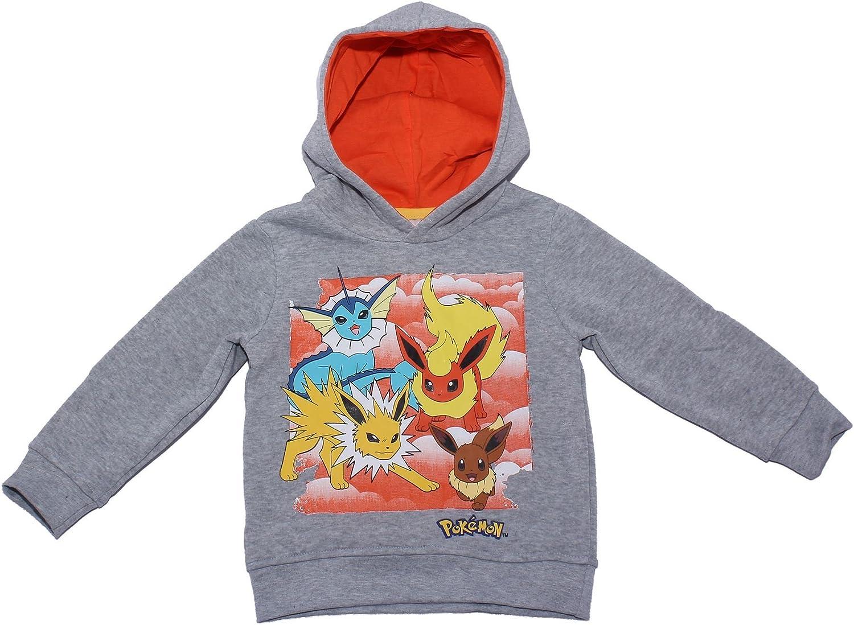 Pokemon Childrens Squares Hodded Jumper