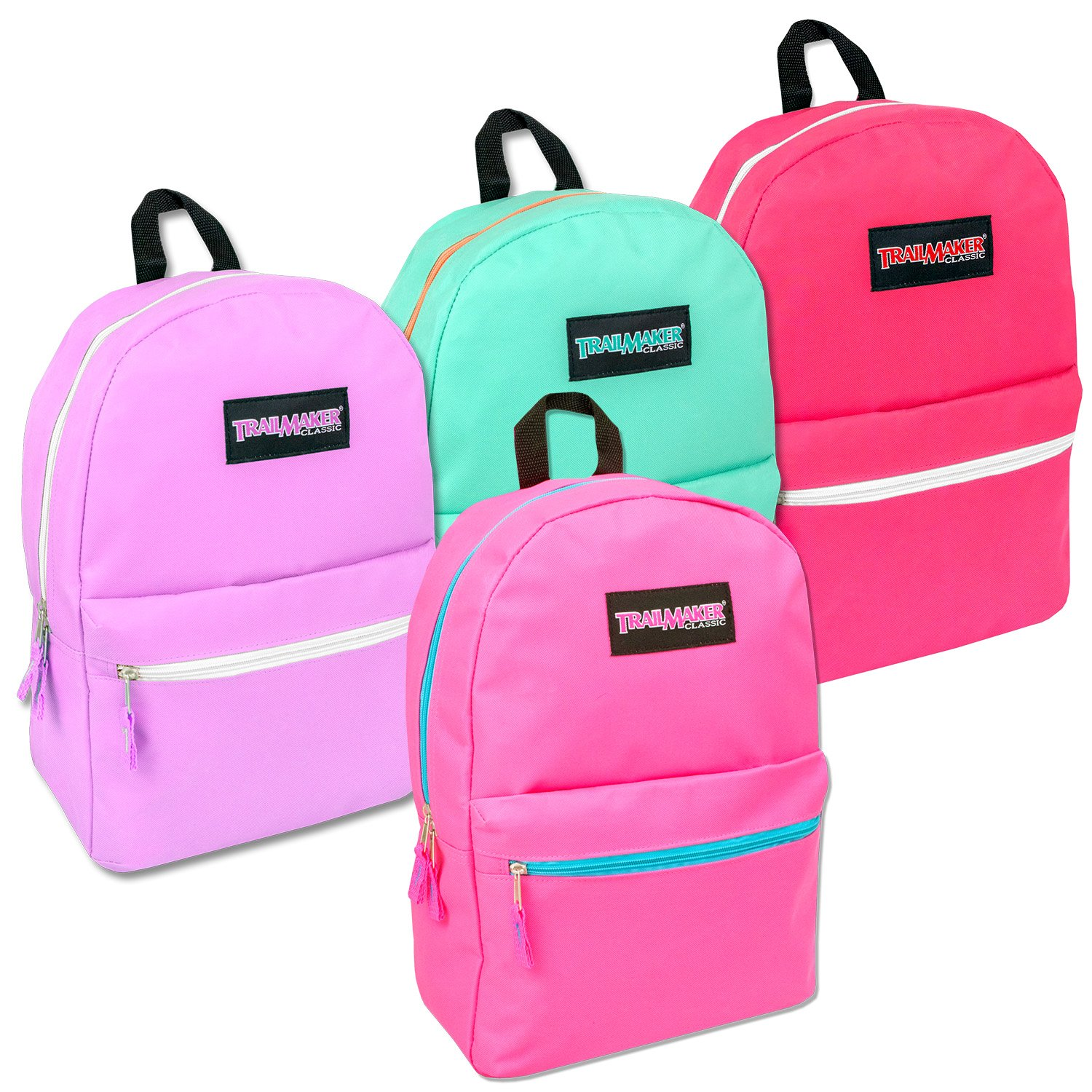 Wholesale Trailmaker Deluxe 17 Inch Backpack - Girls Case Pack 24