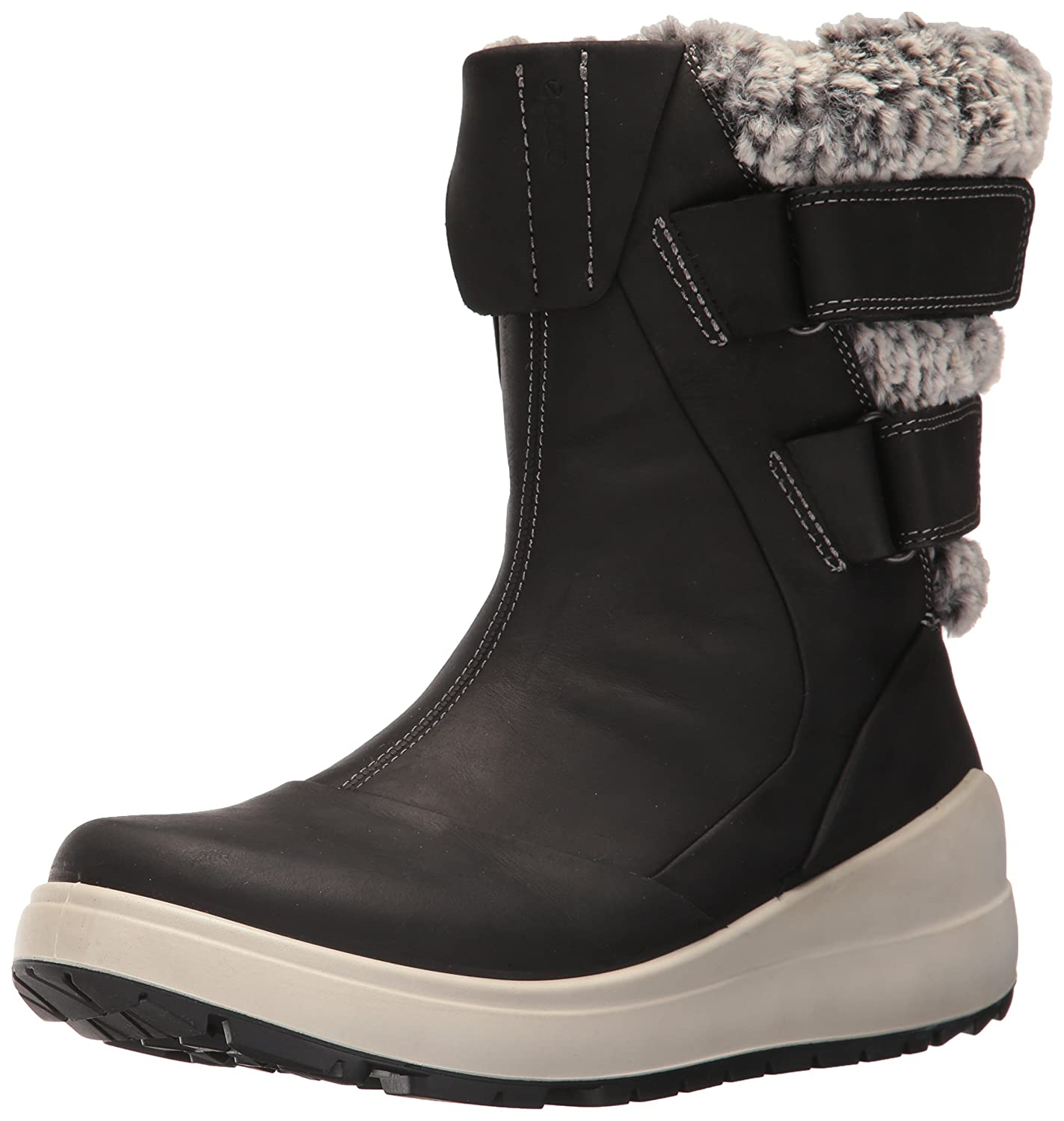 ECCO Women's Noyce Snow Boot B01M7U71NM 42 EU / 11-11.5 US|Black