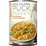 Wolfgang Puck Organic Soup, Free Range Chicken Noodle, 14.5 Ounce