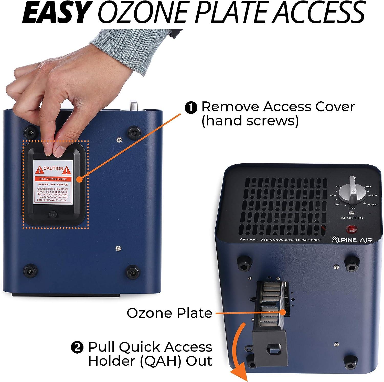 Alpine Air Technologies Generador de ozono comercial (Purificador ...