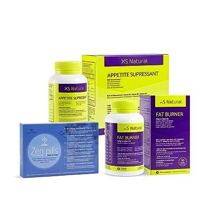 XS Natural Appetite Supressant: Cápsulas saciantes para controlar y reducir el apetito + XS Natural