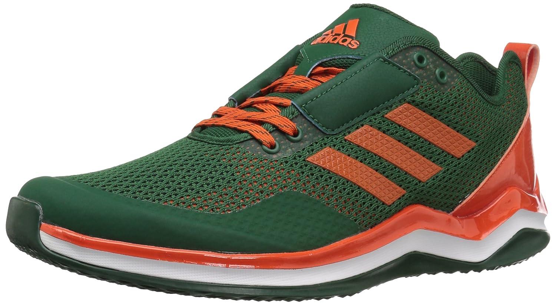 adidas Men's Freak X Carbon Mid Cross Trainer B01MT1B4P5 8.5 D(M) US|Dark Green/Collegiate Orange/White