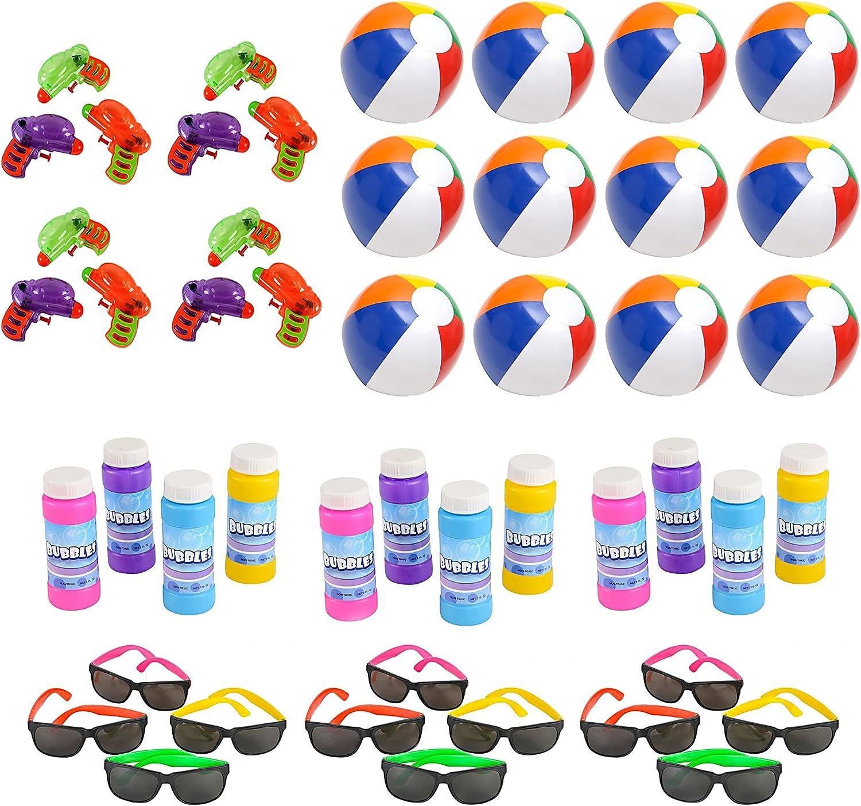 Beach Toys for Boys and Girls Beach Toy w Beach Balls Beach Toys for Older Kids Sun Glasses,