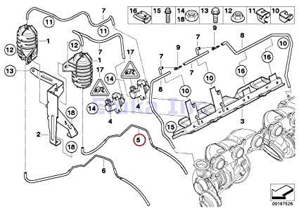 Amazon Com Bmw Genuine Reservoir To Wastegate Turbocharger Vacuum