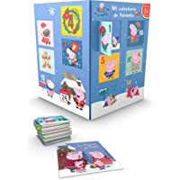 Mi calendario de adviento 2021 (Peppa Pig): Incluye 24 libros para que niños y niñas cuenten los días que quedan para…