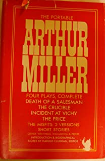 the theater essays of arthur miller arthur miller robert a  the portable arthur miller