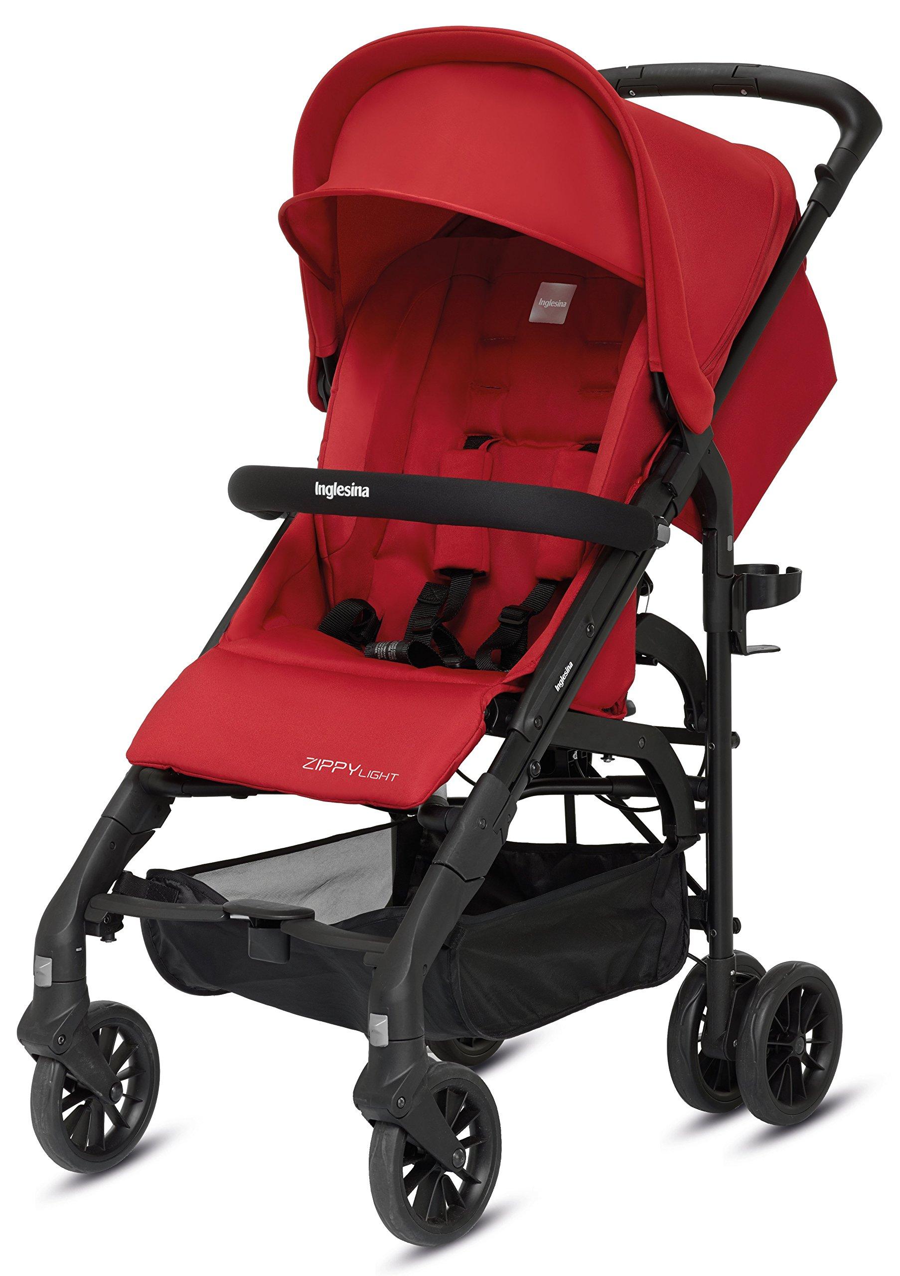 Inglesina Zippy Light Stroller, Vivid Red
