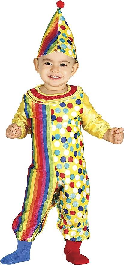 Guirca- Disfraz 12-24 meses Payaso Baby, u (85972.0): Amazon.es ...