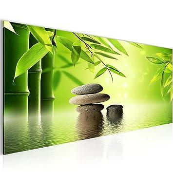 Feng Shui Bilder bilder feng shui steine wandbild 100 x 40 cm vlies leinwand bild