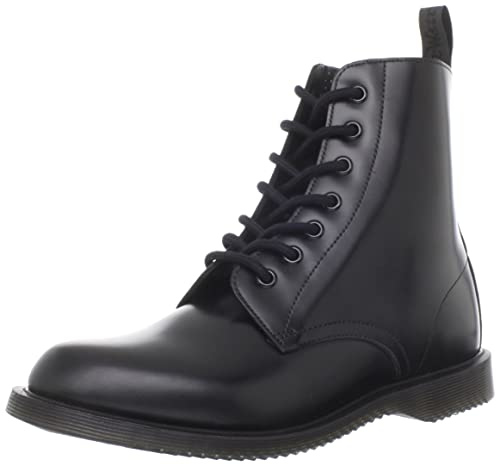 fd228cf38a9 Amazon.com | Dr. Martens Women's Drury Boot, Black Polished Smooth ...