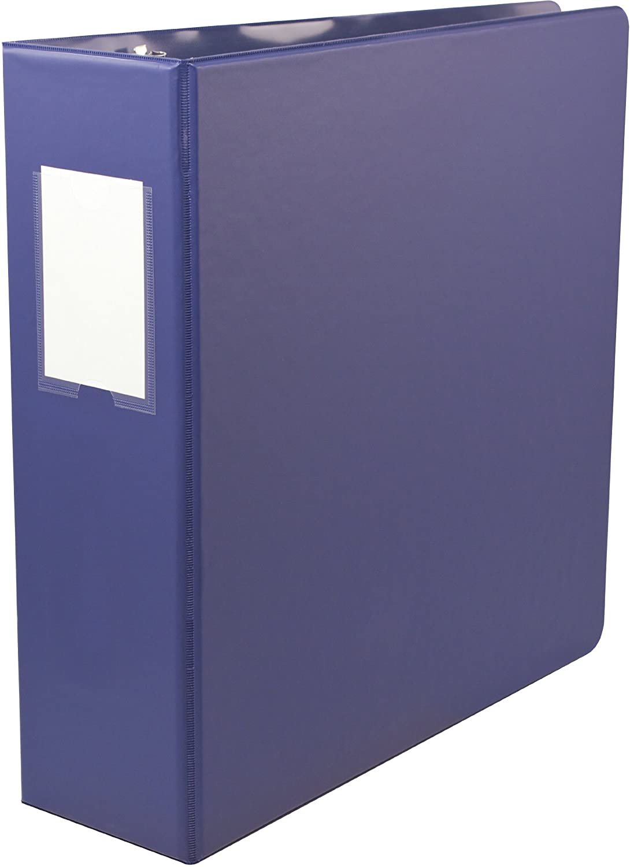 Wilson Jones Standard ENVI 3-Inch D-Ring Storage Binder, Letter Size, 600-Sheet Capacity, Black (7891061129)