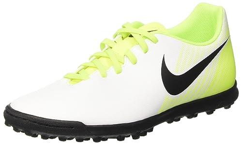3675675e64c5 Nike Men s Magistax Ola II Tf White Black Volt Wolg Grey Turf Soccer ...