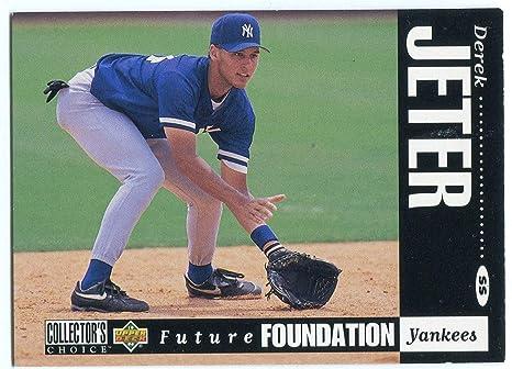Derek Jeter 1994 Upper Deck Future Foundation Rookie Card At