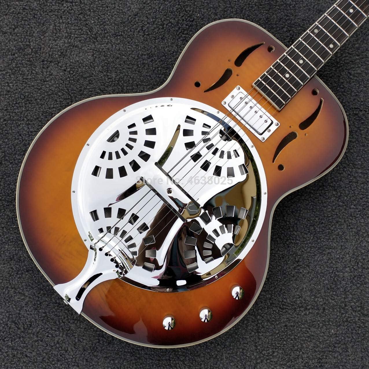 Sunburst Dobro - Guitarra eléctrica de acero con resonador ...