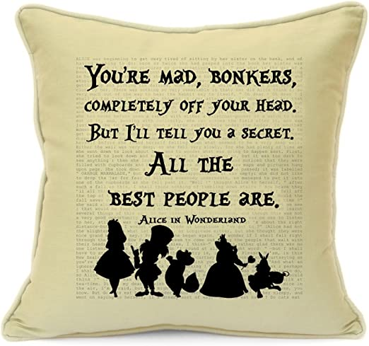 vintage alice in wonderland disney quotes birthday party gifts for