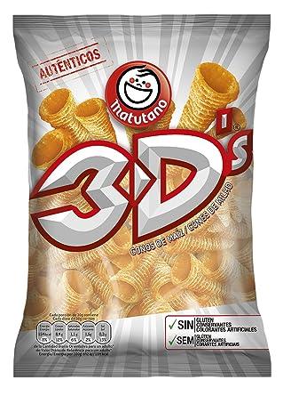 Matutano - 3DŽs - Conos de maíz sin gluten - 85 g: Amazon.es ...