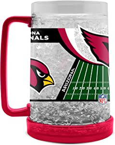 NFL Arizona Cardinals 16oz Crystal Freezer Mug
