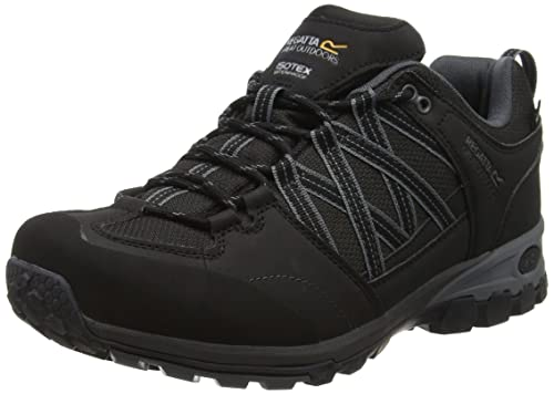Regatta Samaris Low, Mens Low Rise Hiking Boots, Black (Black/Granit)
